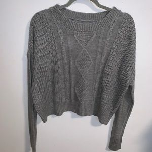 Arizona Sweater Crop Top NWT